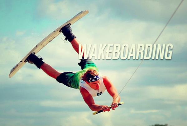 Wake-boarding