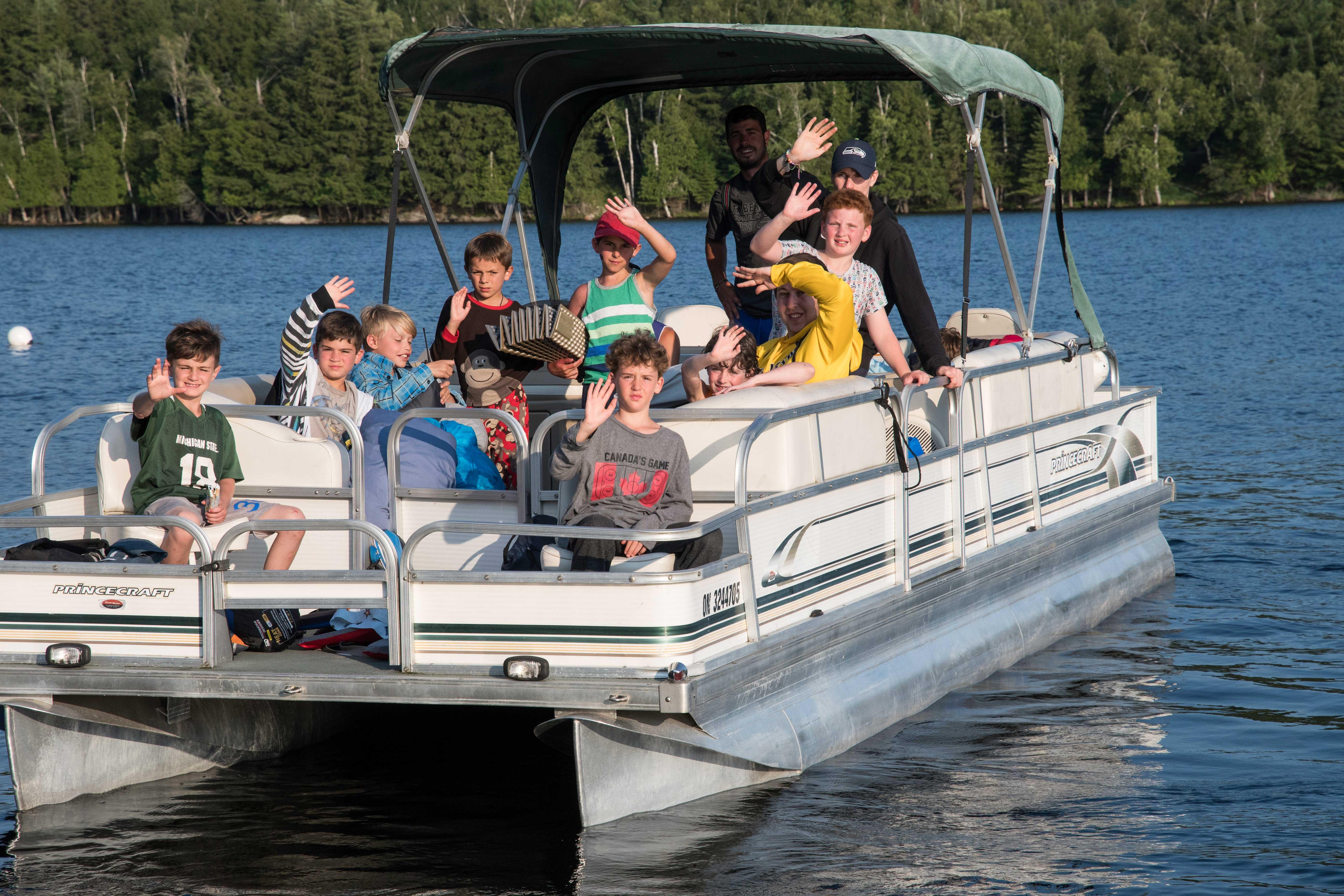 Pontoon Boating